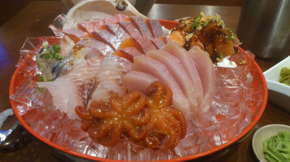 Toyotomi Sashimi All You Can Eat