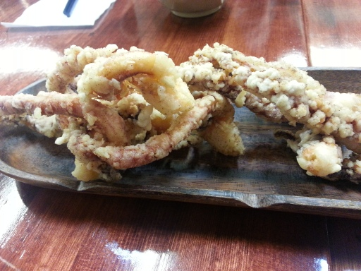 Tapioca Cafe-Peppered Squid