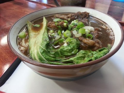 Tapioca Cafe-Stewed Beef Noodle Soup