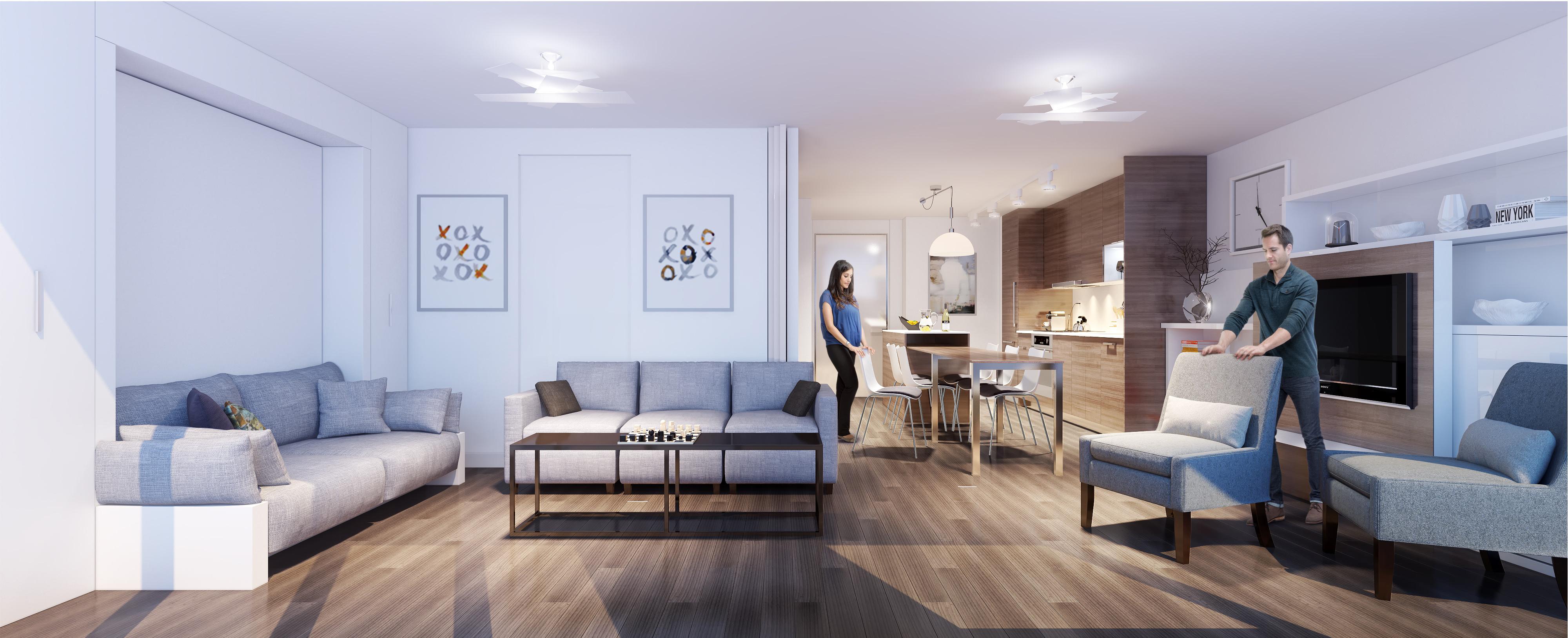 08 4000×1627  Architecture  Pinterest  Architecture Simple One Bedroom Apartment Designs Example Design Ideas