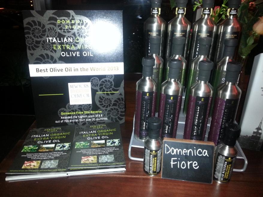 Giovane Market Tasting - Domenica Fiore Olive Oil