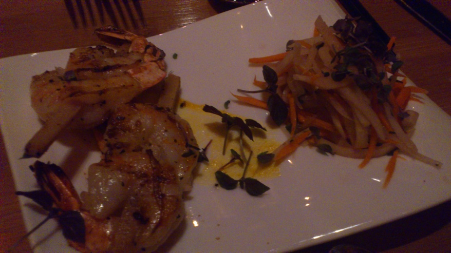 The Tonga Room - Prawns
