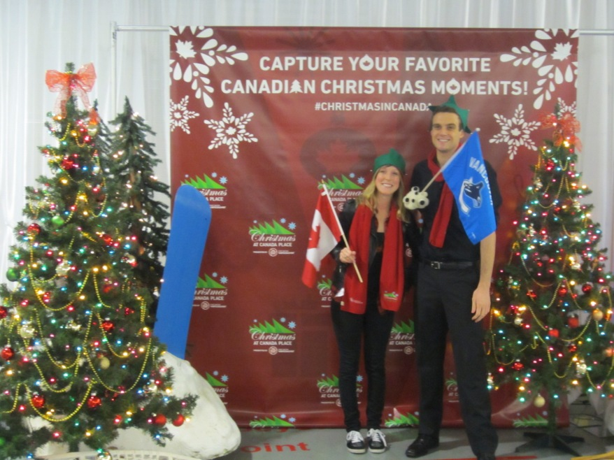 Christmas at Canada Place - Photo Booth