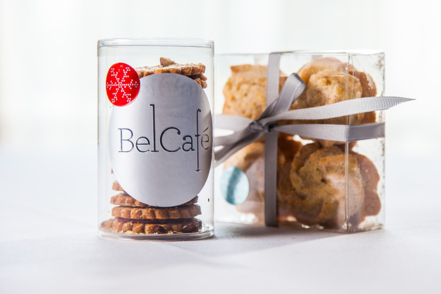 Bel Cafe_Hazelnut Linzer Cookies_Spiced Whipped Shortbread_packaged