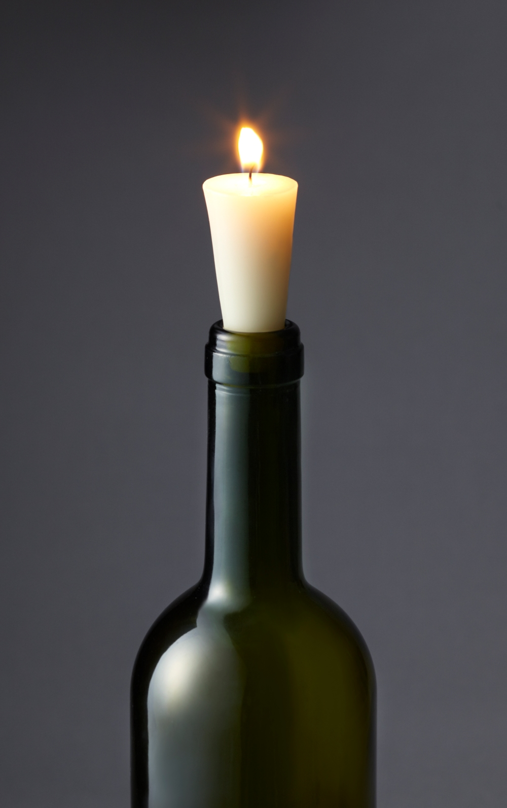 Bottle Stopper Wine Candle Lifestyle
