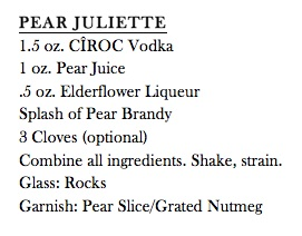 Pear Juliette Recipe