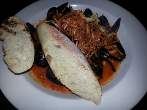 The Libra Room - Spicy Chorizo Mussels