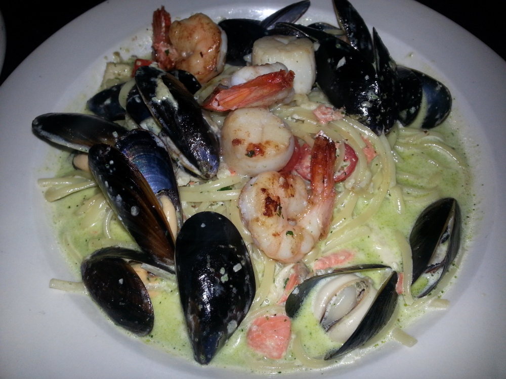 The Libra Room - Seafood Linguini