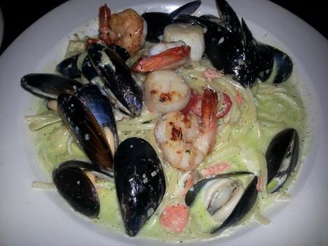 The Libra Room - Seafood Linguini