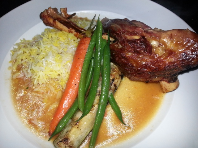 The Libra Room - Red Wine Braised Lamb Shank