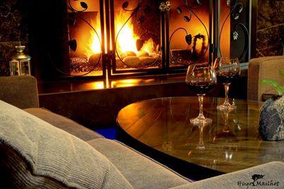 cedars lounge fireside