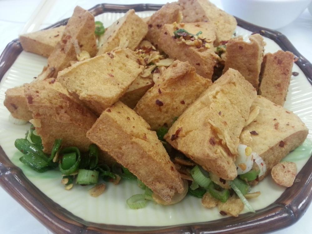 Spring Garden - Deep Fried Salt and Pepper Tofu