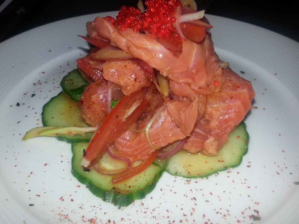 Aji Bistro - Salmon Sashimi