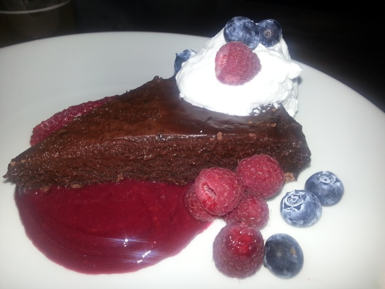 Aji Bistro - Flourless Chocolate Cake