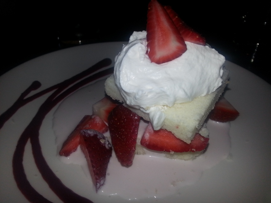Aji Bistro - Strawberry Shortcake