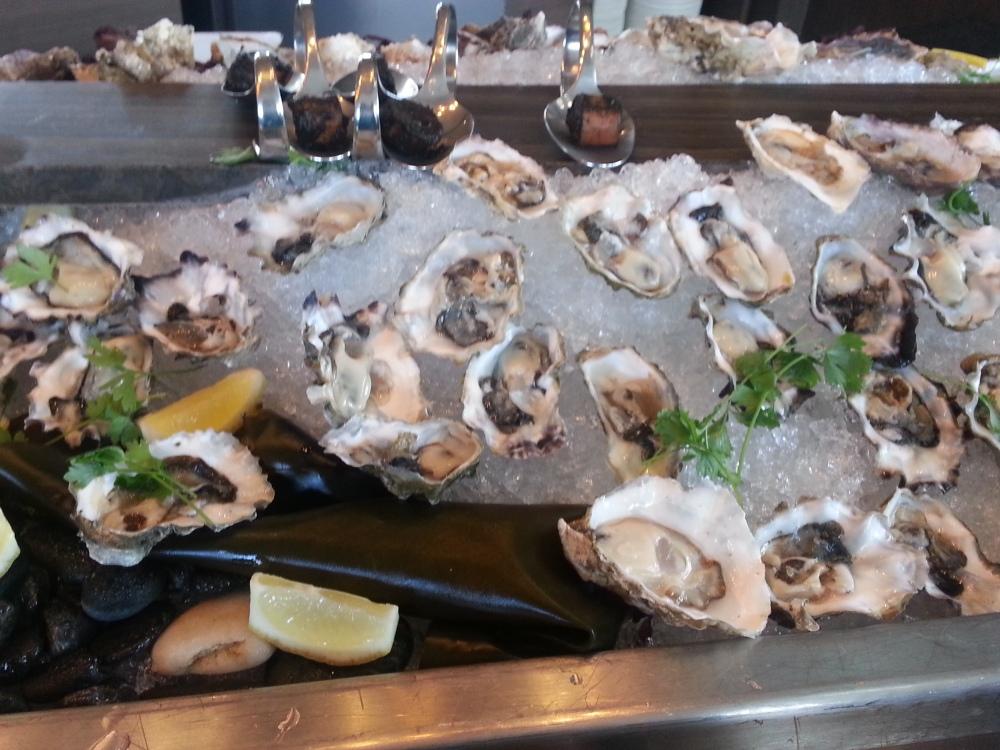 ARC Launch - Fresh Oysters
