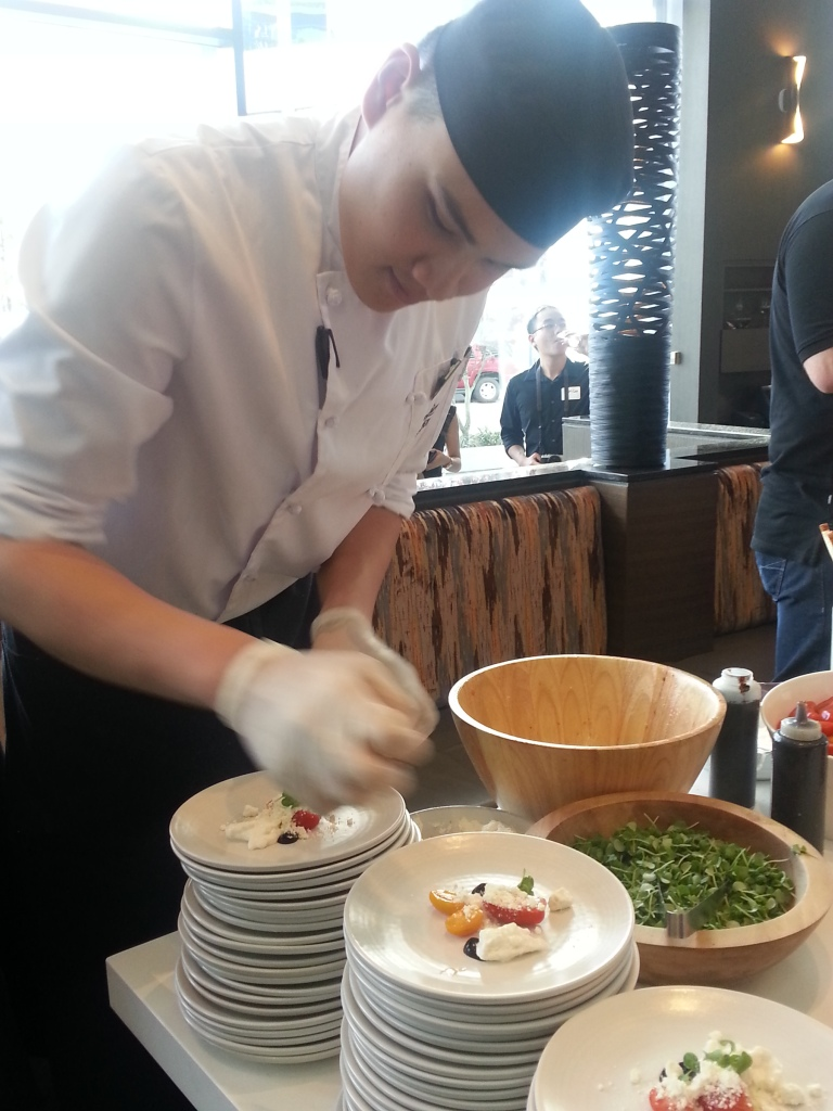 ARC Launch Tomato Salad