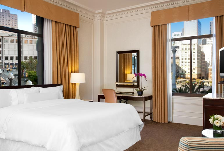 Grand Deluxe King Bed, Landmark Building. Photo courtesy of Westing website