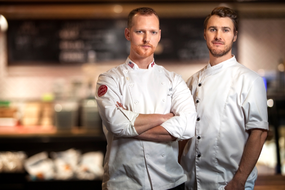Earls Chef Ryan Stone and Brian Skinner