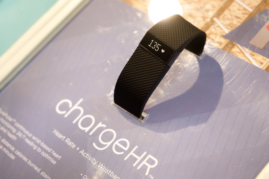 Fitbit at Mobile World Congress 2015 Barcelona