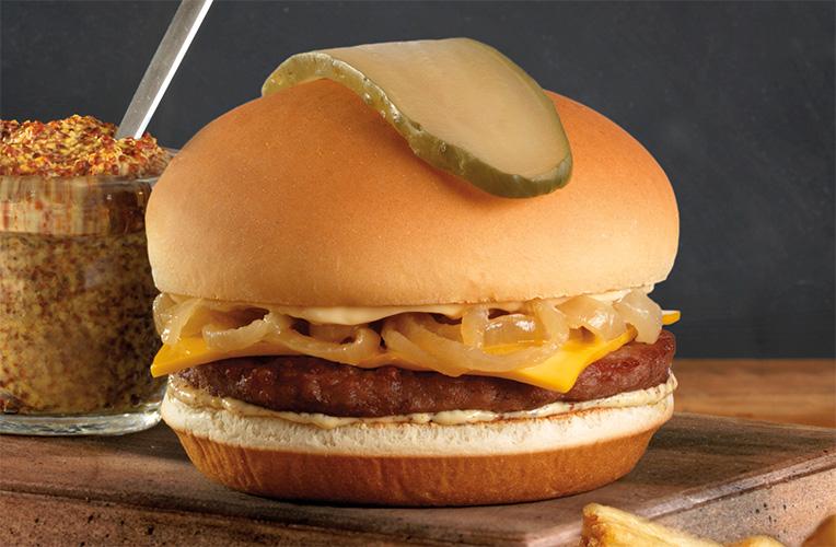 Classic Diner 50-50 Burger