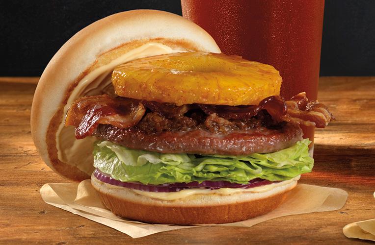 Hawaiian 50-50 Burger