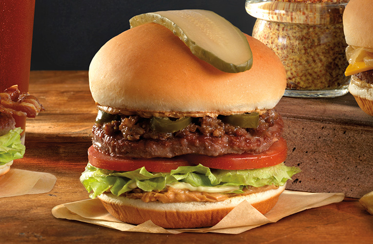 Classic Diner 50/50 Burger – Enjoy a new twist on a classic diner ...