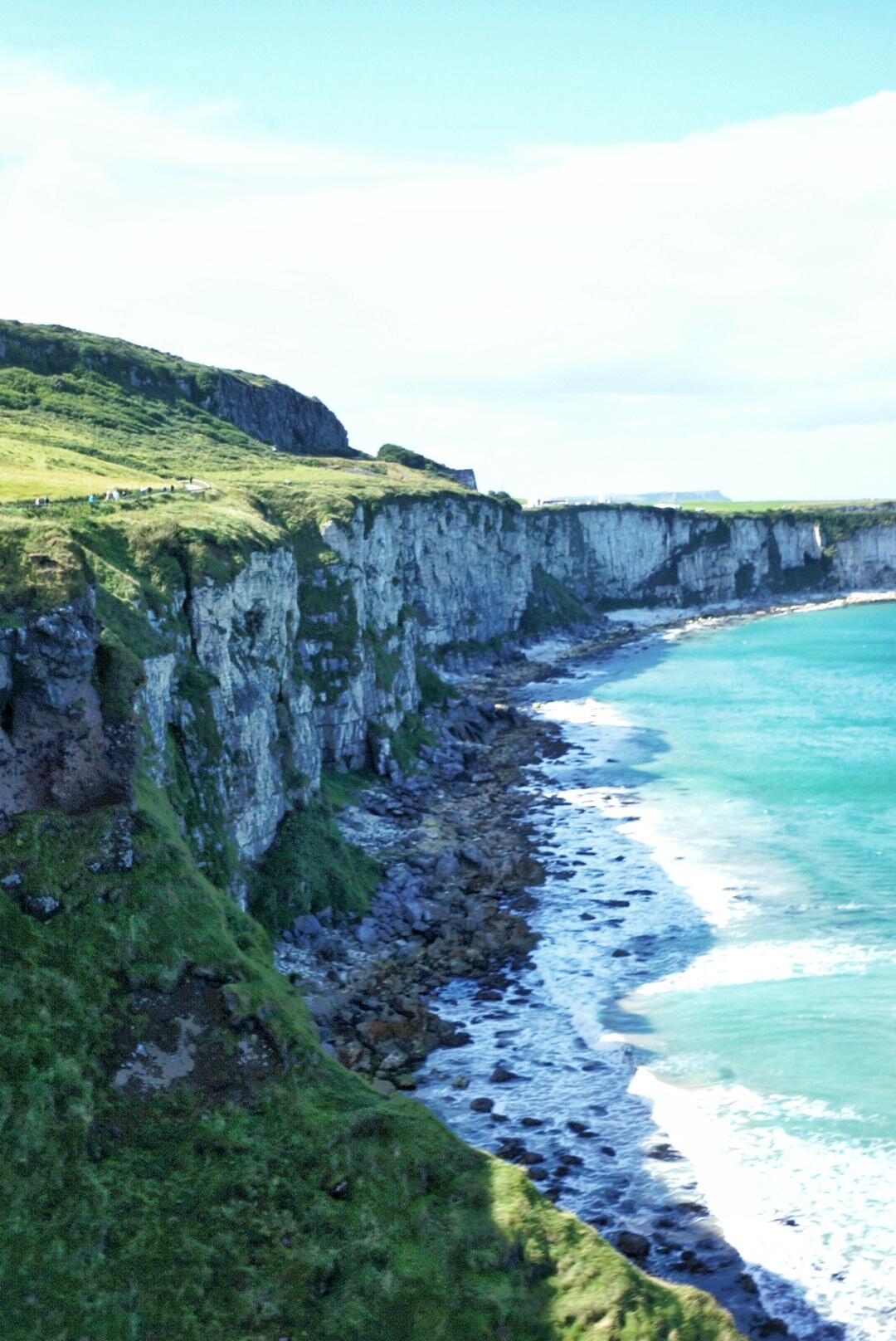 ireland places visit amazing northern antrim county causeway giant five cliffs