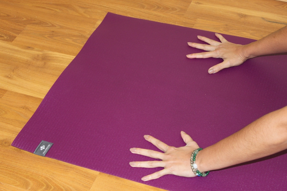 Gripping Yoga Mat Halfmoon