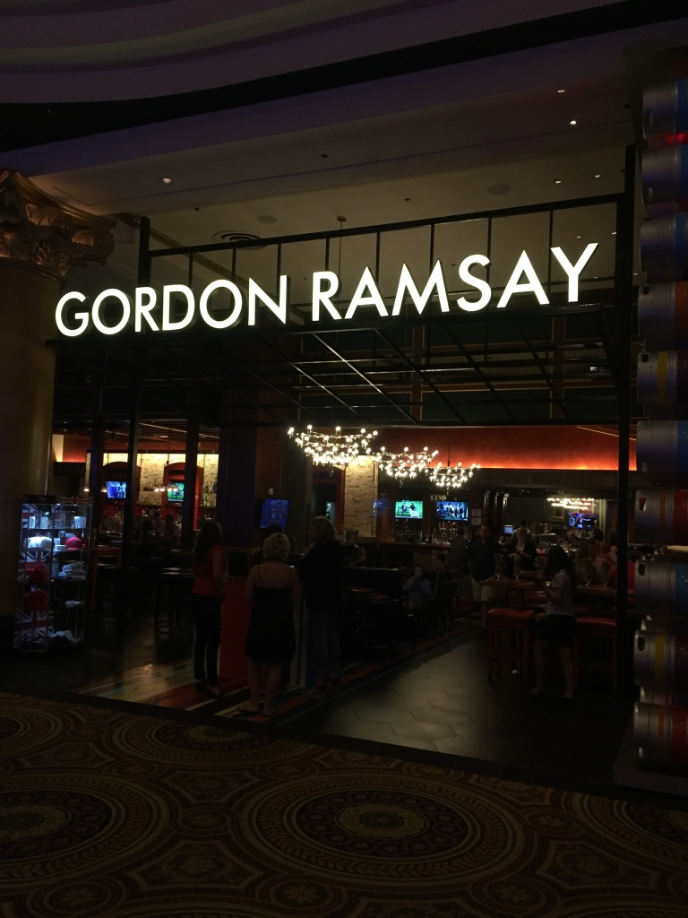 Ramsay Restaurant - Vegas