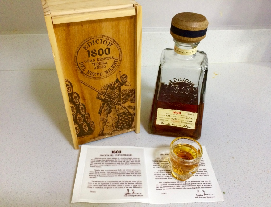 1800 Gran Reserva Tequila Anejo - Edicion del Nuevo Milenio( No. 26/288)